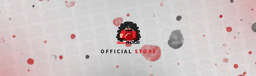 StreamPhotog Official Team Store Header